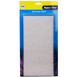 I114524-Aqua One Aquastyle Ar850 White Wool 2 Pack 4w