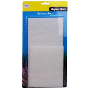 I114584-Aqua One Aquastyle Ar980 White Wool 3 Pack