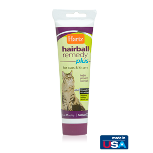 I115562-Hartz Hairball Remedy Salmon Flavoured Paste 70g