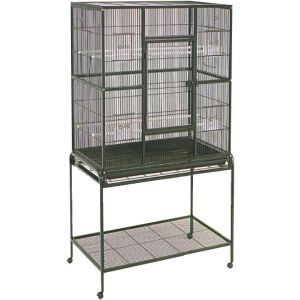 I117698-Avi One 604 Square Bird Cage With Stand