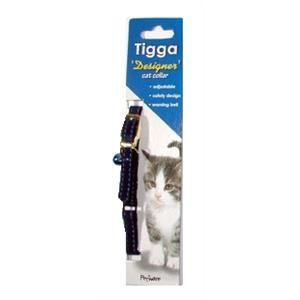 I119528-Tigga Cat Collar Velvet Blue