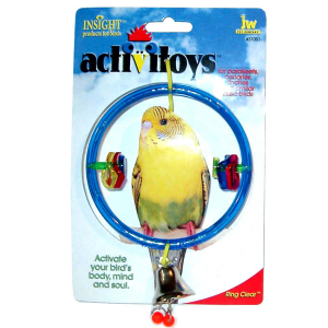 I119903-Jw Insight Ring Clear Bird Toy