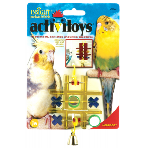 I120395-Jw Insight Tic Tac Toe Bird Toy