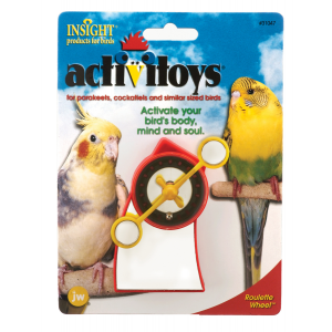 I120396-Jw Insight Roulette Bird Toy
