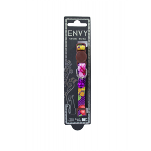 I251989-Envy Cat Collar Flora Purple 10x200-330