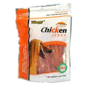 I249221-Wanpy Chicken Jerky Dog Treats 454g