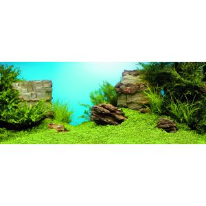 I248589-Juwel Tank Background Rocks & Plants Xl