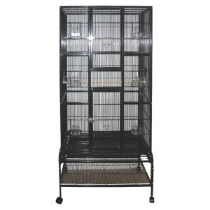 I129360-Avi One 604t Tall Square Bird Cage With Stand