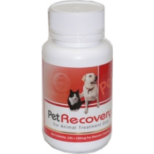 I133841-Silberhorn Pet Recovery Dog Supplement With Glucosamine 100 Capsules