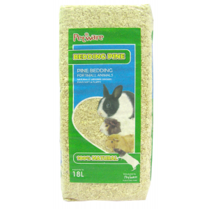 I247126-Petware Pine Small Pet Bedding 18l Expanded