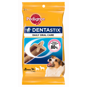 I247206-Pedigree Dentastix 7 Pack Small Size Dog Treats