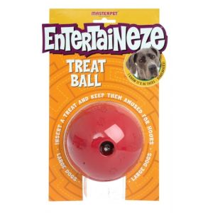I248014-Yours Droolly Ball Treat Dispenser Large Dog Toy
