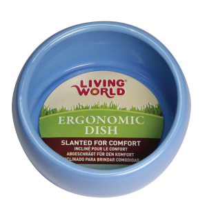 I247120-Living World Ergonomic Dish Blue Large