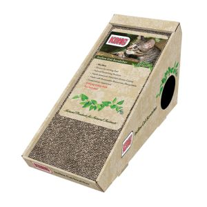 I139021-Kong Naturals Incline Cat Scratcher With Toy