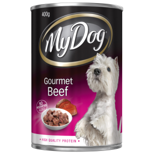I140121-My Dog Gourmet Beef Dog Food 400g