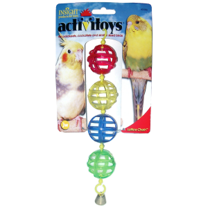 I142085-Jw Insight Activi Bird Toy Lattice Chains