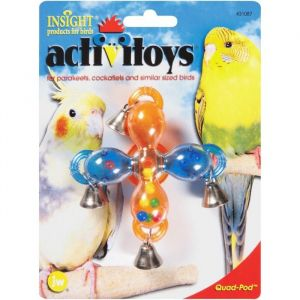I248830-Jw Insight Quad Pod Bird Activitoy