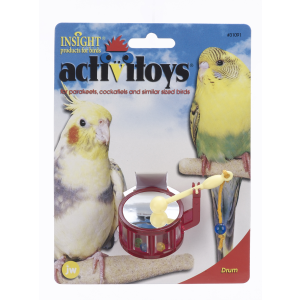 I248831-Jw Insight Drum Bird Activitoy