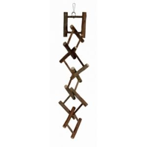 I142158-Trixie Wooden 12 Rung Ladder 50cm