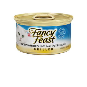 I247569-Fancy Feast Grilled Ocean Whitefish & Tuna Cat Food 85g