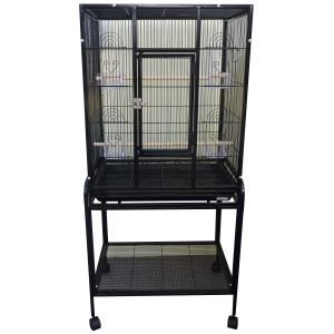 I145109-Avi One 603 Square Bird Cage With Stand