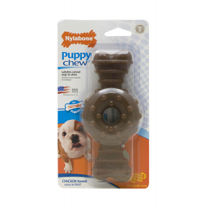 I249117-Nylabone Wolf Ring Bone Small Puppy Chew Toy