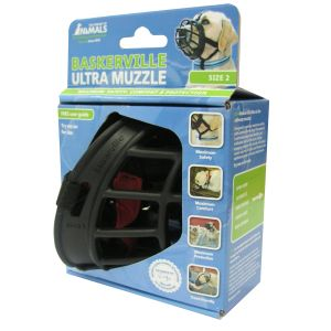 I247488-Baskerville Dog Muzzle Ultra Size 2 Black