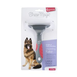 I153999-Shear Magic Shedding Rake For Large Dogs