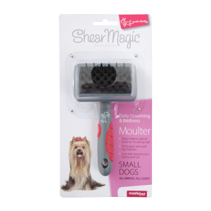 I154017-Shear Magic Moulting Brush For Small Dogs