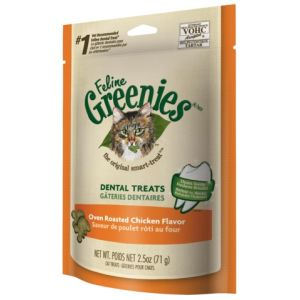 I247303-Greenies Oven Roasted Chicken Cat Treats 71g