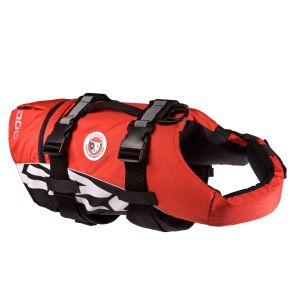 I249107-Ezydog Red Floatation Vest Small