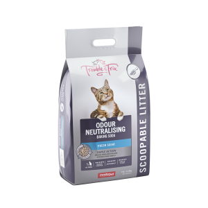 I248125-Trouble & Trix Clumping Cat Litter With Baking Soda 15l