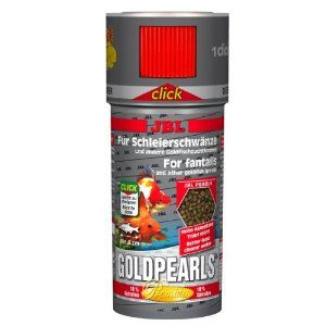 I247525-Jbl Goldpearls With Click Top For Goldfish 145g