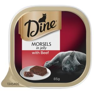 I247317-Dine Daily Morsels In Jelly With Beef Cat Food 85g