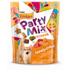 I247658-Friskies Party Mix Crunch Cheezy Craze Cat Treat 170g