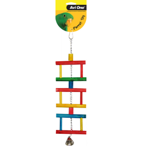 I157025-Avi One Multi-level Swing Bird Toy With Bell
