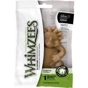 I157976-Whimzees Hedgehog Large Dog Treat Single