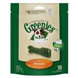 I247309-Greenies Original Smart Treat 10 Pack Petite Dog Treats 170g