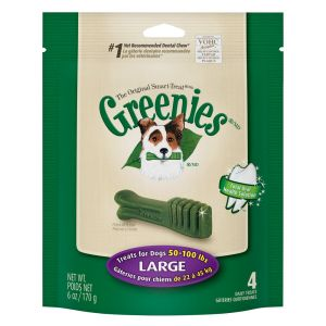 I247311-Greenies Original Smart Treat 4 Pack Dog Dental Chews 170g