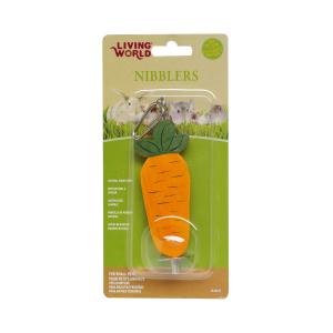 I159935-Living World Carrot On A Stick Small Pet Chews