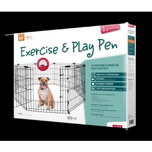I248063-Yours Droolly Dog Exercise Pen 30 Inch