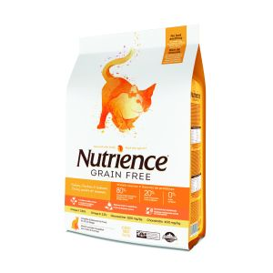 I248277-Nutrience Grain Free Turkey Chicken And Herring Cat Food 5kg