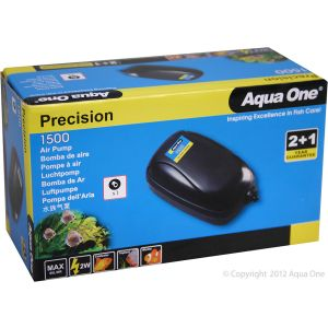 I246691-Aqua One Precision Air Pump Single 1500 60l/hr