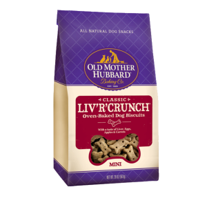 I162186-Old Mother Hubbard Liver Crunch Dog Treat 566g