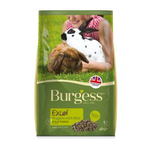 I248444-Burgess Excel Tasty Rabbit Nuggets 4kg