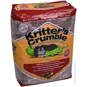 I165459-Kritters Crumble Organic Bedding 20l