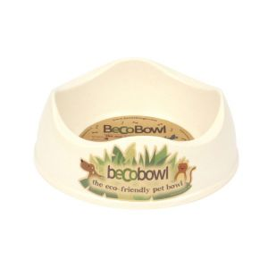 I248937-Becobowl Dog Bowl Natural Small 17cm 500ml