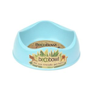 I248938-Becobowl Dog Bowl Blue Small 17cm 500ml