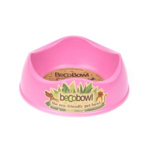 I248939-Becobowl Dog Bowl Pink Small 17cm 500ml