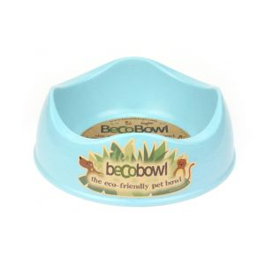 I248941-Becobowl Dog Bowl Blue Medium 21cm 750ml